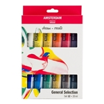 Standard Series Acrylics General Selection Set 12 × 20 ml