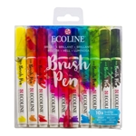 Ecoline Brush Pen Set of 10 - Bright