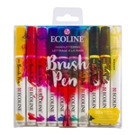 Ecoline Brush Pen Set of 10 - Handlettering