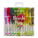 Ecoline Brush Pen Set of 10 - Botanic