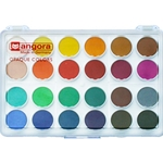 Angora Opaque Watercolor Pan Set
