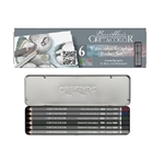 Cretacolor Watercolor Graphite Pocket Set of 6
