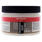 Amsterdam Acrylic Gesso- Transparent 250ml Jar