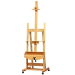 Best Crank Oak Studio Easel