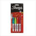 Sharpie Mini 4-Pack of Fine Tipped Markers
