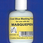 Masquepen Cool Blue Watercolor Masking Fluid Refill 1oz