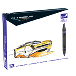 Prismacolor Art Marker - Art Marker Set Of 12 Primary Colors