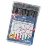 Faber Castell - Pitt Artist Brush Pen Bright Colors Set of 8