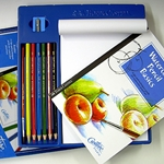 Faber Castell Creative Studio Getting Started Watercolor Pencil Set