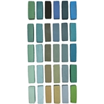 Terry Ludwig Pastels - Cool Greens Set of 30