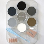 PanPastel Colors for Models & Miniatures- Weathering Kit (Greys, Grime & Soot)