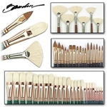 John Howard Sanden Professional Portrait Collection of 47 Silver Brushes