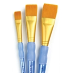 Royal Brush Golden Taklon Glaze Set