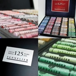 Sennelier Pastel Luxury Anniversery Set of 125 Pastels in a Wood Box