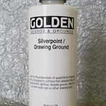 Golden Acrylic Silverpoint/Drawing Ground 8 oz Bottle