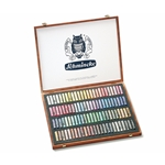 Schmincke Finest Extra-Soft Artist Pastels - Set of 100 in a Wood Box