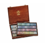 Schmincke Finest Extra-Soft Artist Pastels - Set of 200 in a Wood Box