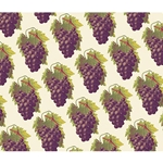 Rossi Decorative Paper from Italy- Purple Grapes 28x40 Inch Sheet