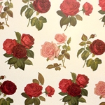 Rossi Decorative Paper from Italy- Roses 28x40 Inch Sheet