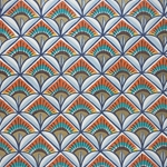 Rossi Decorative Paper from Italy- Palmettes, Faenza Style 28x40 Inch Sheet