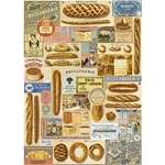 "Cavallini Decorative Paper - Boulangerie Breads 20""x28"" Sheet"