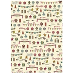 "Cavallini Decorative Paper - Celebrations 20""x28"" Sheet"