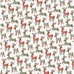 Dashing Reindeer Paper- 19x26 Inch Sheet