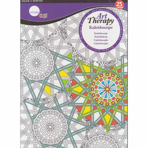 Artists Coloring Book Pepin : Daler rowney simply art therapy