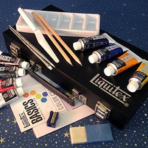 Liquitex Basics Acrylic Painters Box Set