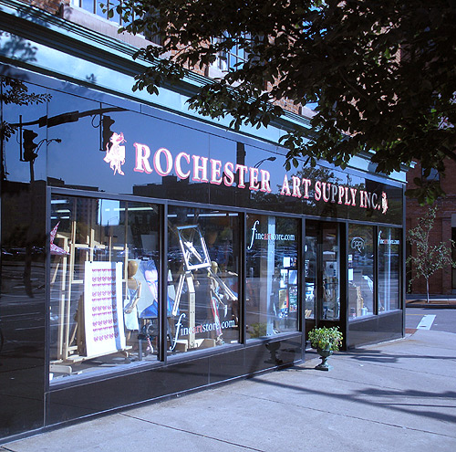 Rochester Art Supply Retail Store